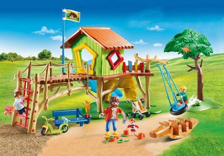 PLAYMOBIL Abenteuerspielplatz (70281)