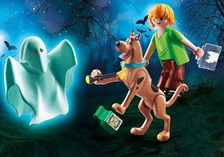 PLAYMOBIL SCOOBY-DOO! Scooby en Shaggy met geest (70287)