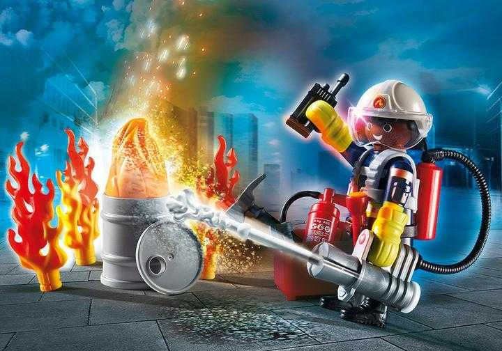 "PLAYMOBIL Geschenkset ""Feuerwehr"" (70291)"