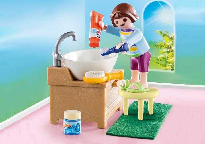 PLAYMOBIL Meisje aan wastafel (70301)