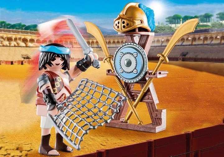 PLAYMOBIL Gladiator met wapens (70302)