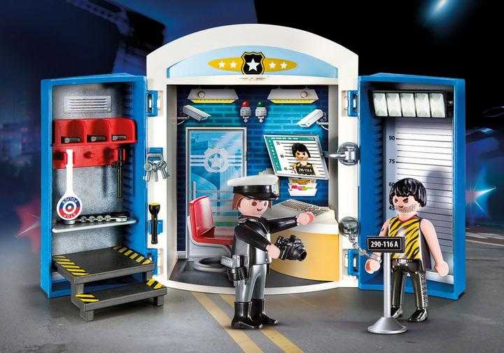 PLAYMOBIL Police Station Play Box (70306)