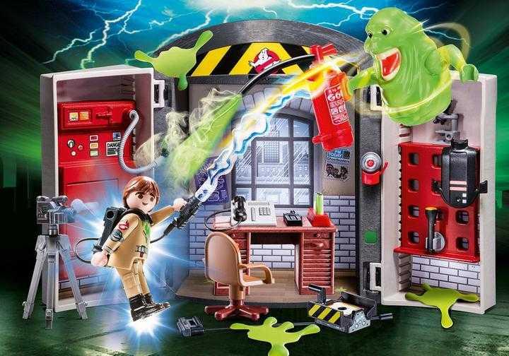 PLAYMOBIL Ghostbusters Playbox (70318)