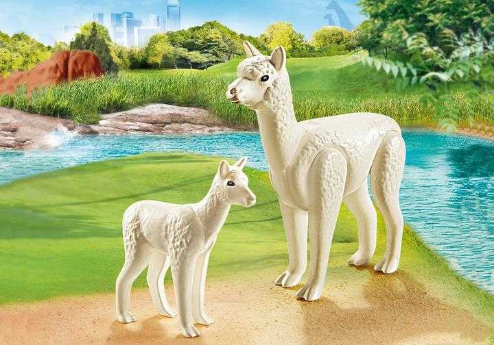 PLAYMOBIL Alpaca met baby (70350)