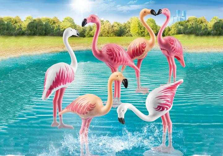 PLAYMOBIL Flamingoschwarm (70351)