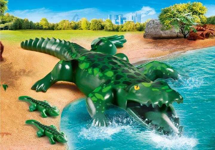 PLAYMOBIL Alligator mit Babys (70358)