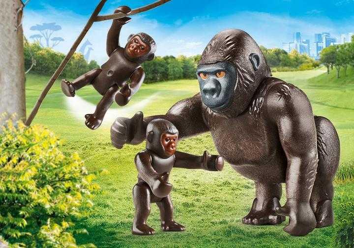 PLAYMOBIL Gorilla met babies (70360)