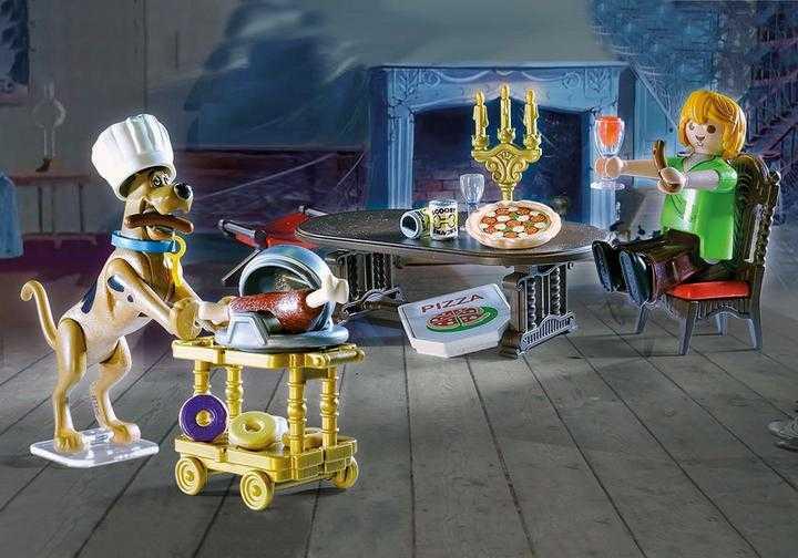 PLAYMOBIL SCOOBY-DOO! Abendessen mit Shaggy (70363)