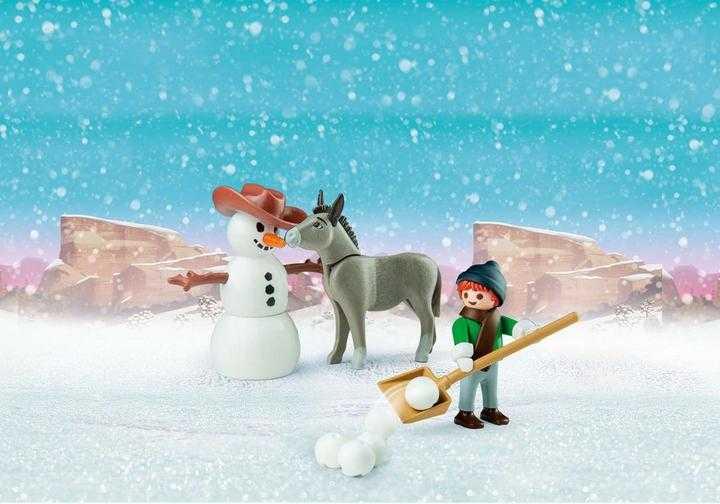 PLAYMOBIL Schneespaß mit Snips und Herrn Karotte (70398)