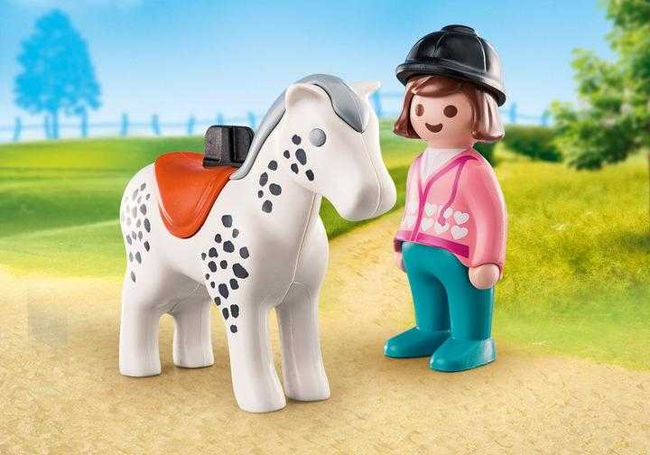 PLAYMOBIL Rider with Horse (70404)
