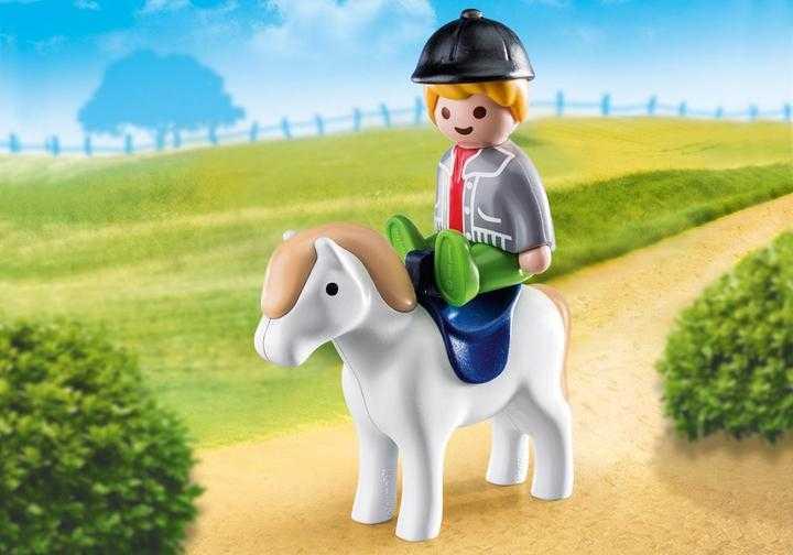 PLAYMOBIL Junge mit Pony (70410)