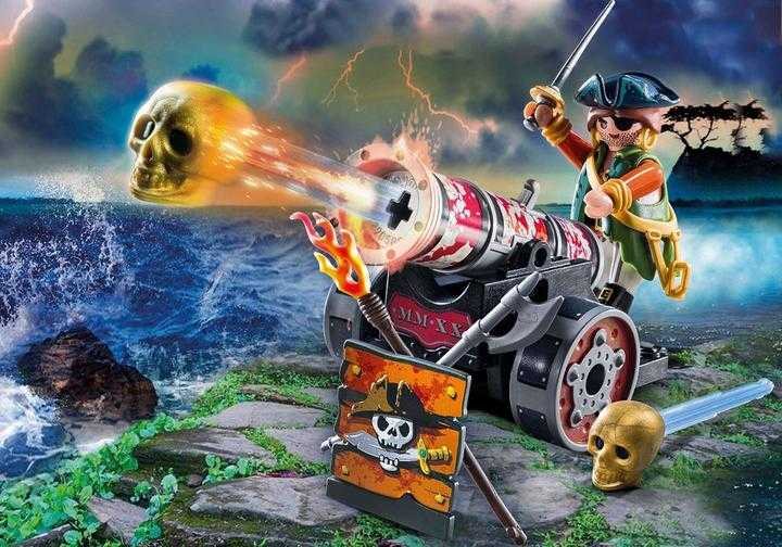 PLAYMOBIL Pirate with Cannon (70415)