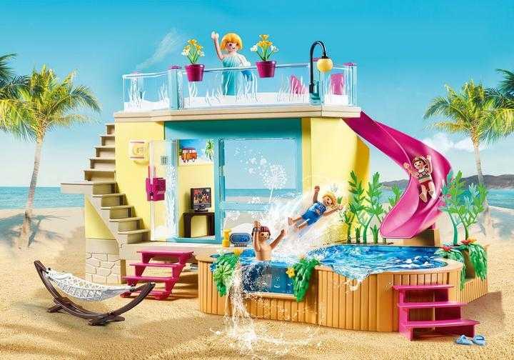 PLAYMOBIL Bungalow met zwembad (70435)