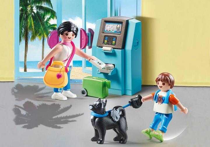 PLAYMOBIL Vakantiegangers met geldautomaat (70439)
