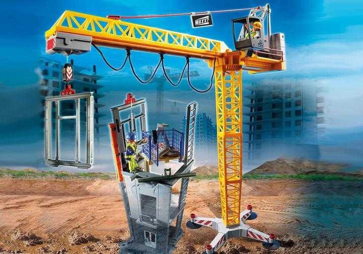 PLAYMOBIL RC bouwkraan met bouwonderdeel (70441)