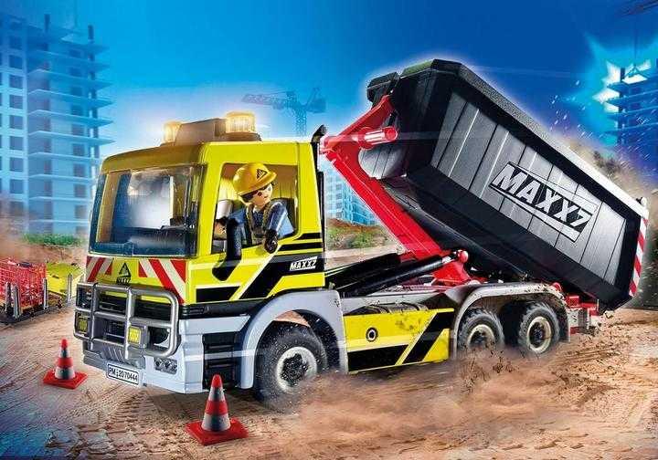 PLAYMOBIL Vrachtwagen met wissellaadbak (70444)