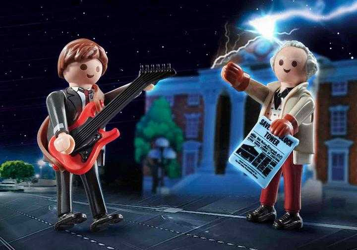 PLAYMOBIL Back to the Future Marty McFly und Dr. Emmett Brown (70459)