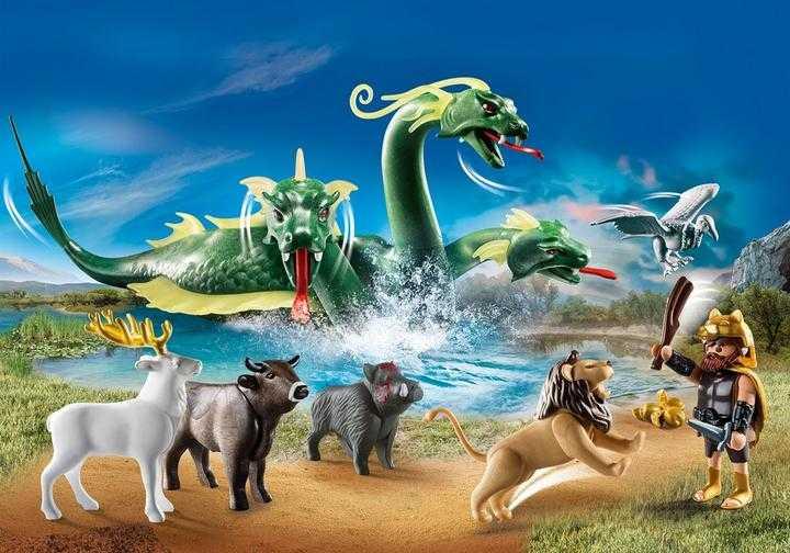 PLAYMOBIL Hercules en zijn twaalf werken (70467)
