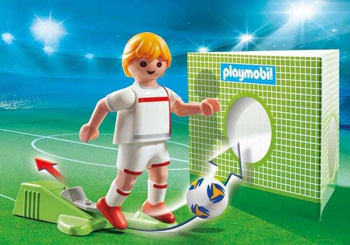PLAYMOBIL Voetbalspeler Engeland (70484)