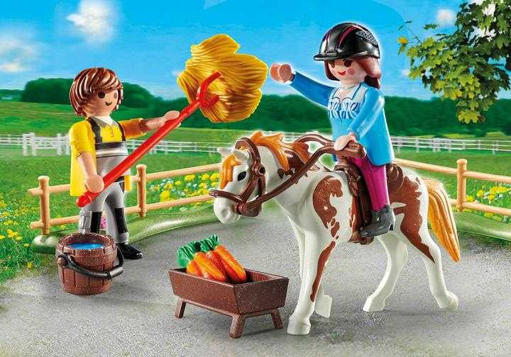 PLAYMOBIL Starter Pack Horseback Riding (70505)
