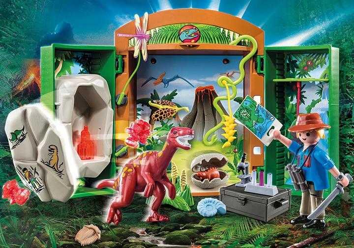 PLAYMOBIL Dino Explorer Play Box (70507)