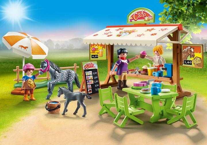 PLAYMOBIL Pony - Café (70519)