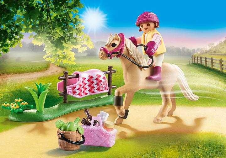 PLAYMOBIL Collectie pony 'Duitse rijpony' (70521)