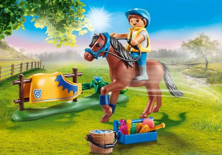 PLAYMOBIL Collectie pony - 'Welsh' (70523)