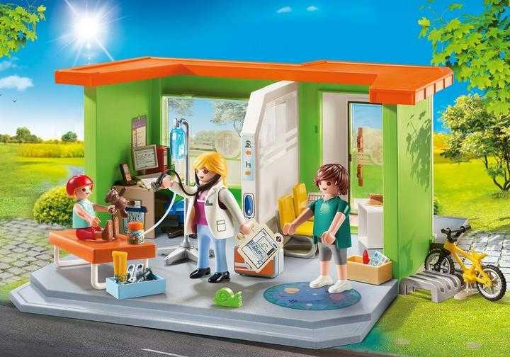 PLAYMOBIL Meine Kinderarztpraxis (70541)