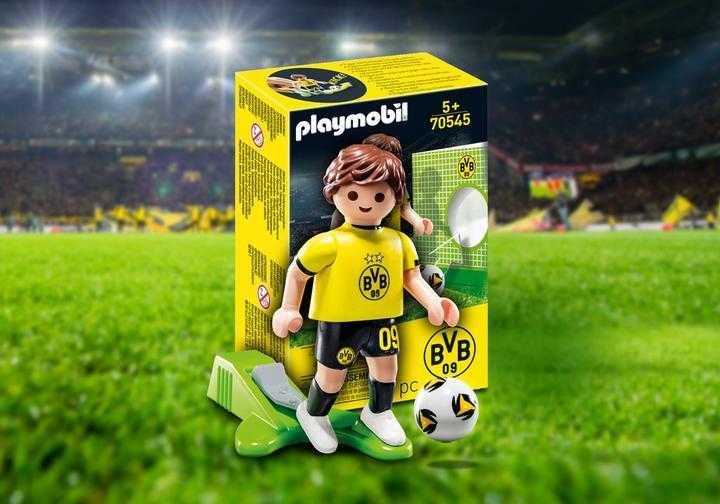 PLAYMOBIL Promo BVB-Fussballer (70545)
