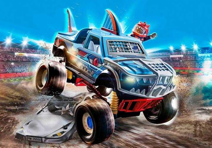 PLAYMOBIL Stuntshow Monster Truck Haai (70550)
