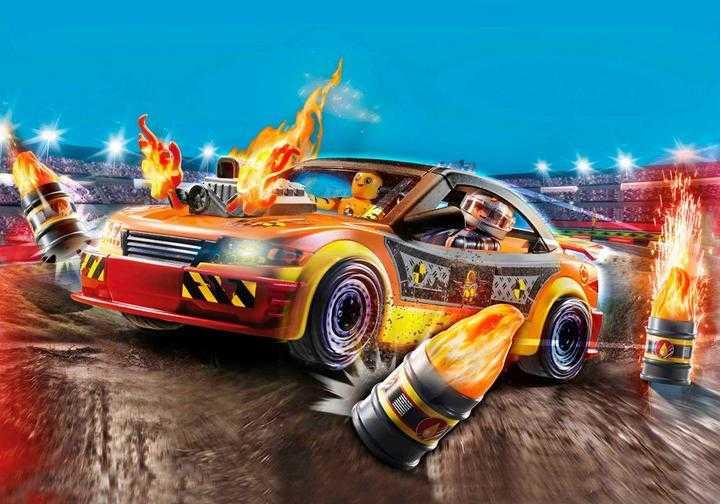 PLAYMOBIL Stuntshow Crashcar (70551)