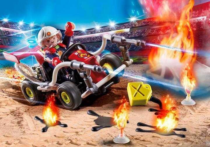 PLAYMOBIL Stuntshow Feuerwehrkart (70554)