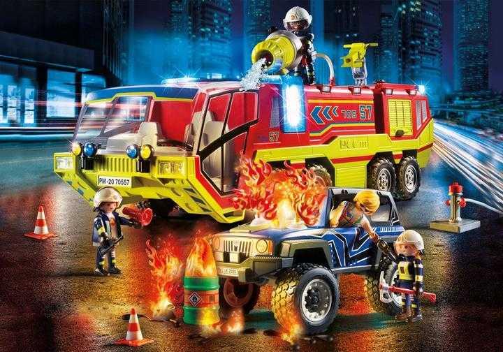 PLAYMOBIL Brandweer met brandweerwagen (70557)