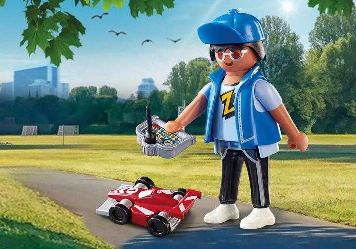 PLAYMOBIL Boy with RC Car (70561)