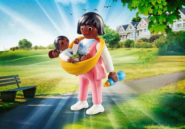 PLAYMOBIL Mother with Baby Carrier (70563)