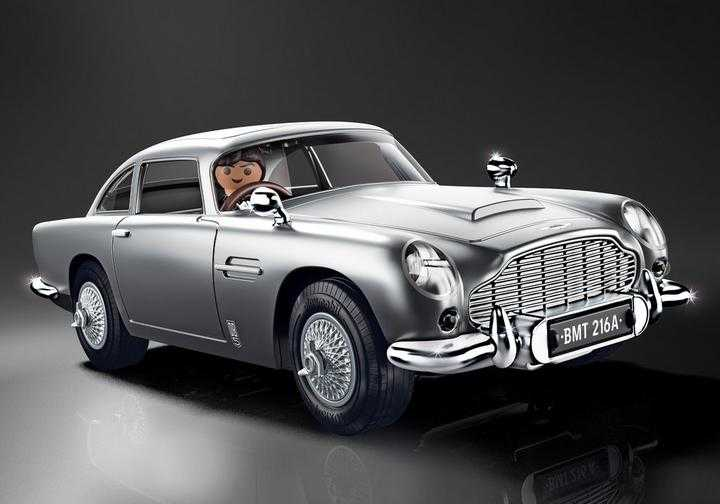 PLAYMOBIL James Bond Aston Martin DB5 - Goldfinger Edition (70578)