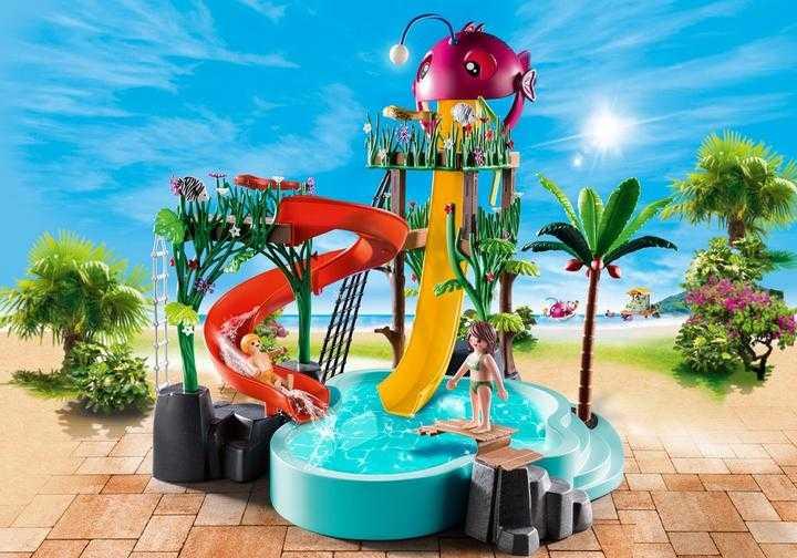 PLAYMOBIL Aqua Park mit Rutschen (70609)