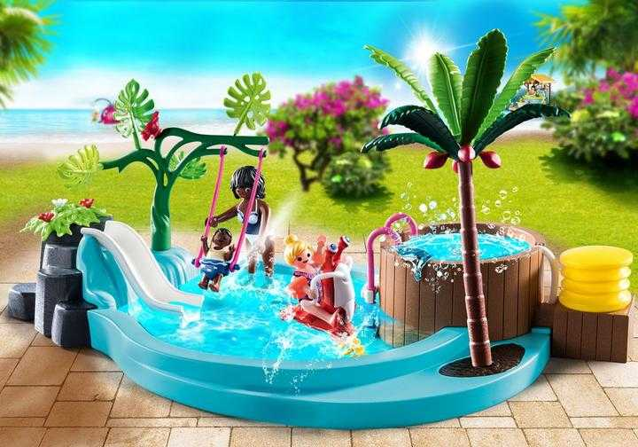 PLAYMOBIL Kinderbecken mit Whirlpool (70611)