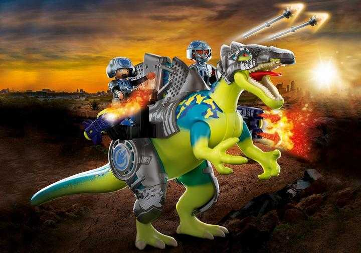 PLAYMOBIL Spinosaurus: Doppelte Verteidigungs-Power (70625)