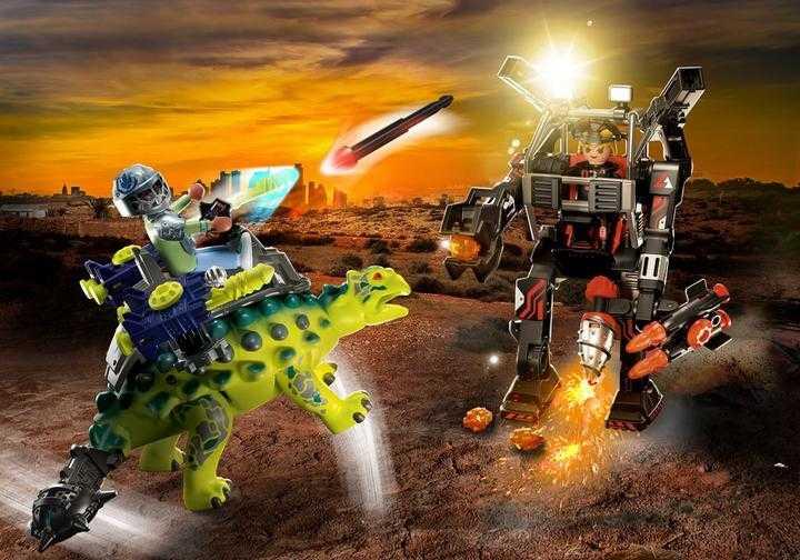 PLAYMOBIL Saichania: Invasion of the Robot (70626)