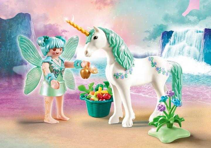 PLAYMOBIL Feeding Fairy with Unicorn (70655)
