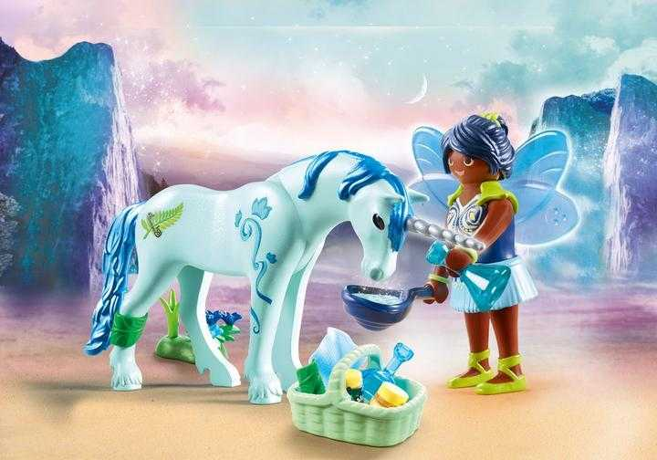 PLAYMOBIL Healing Fairy with Unicorn (70656)