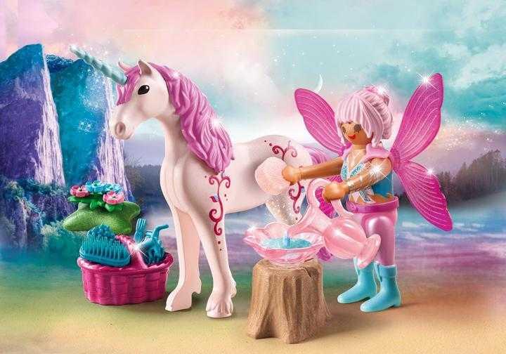 PLAYMOBIL Caretaker Fairy with Unicorn (70658)