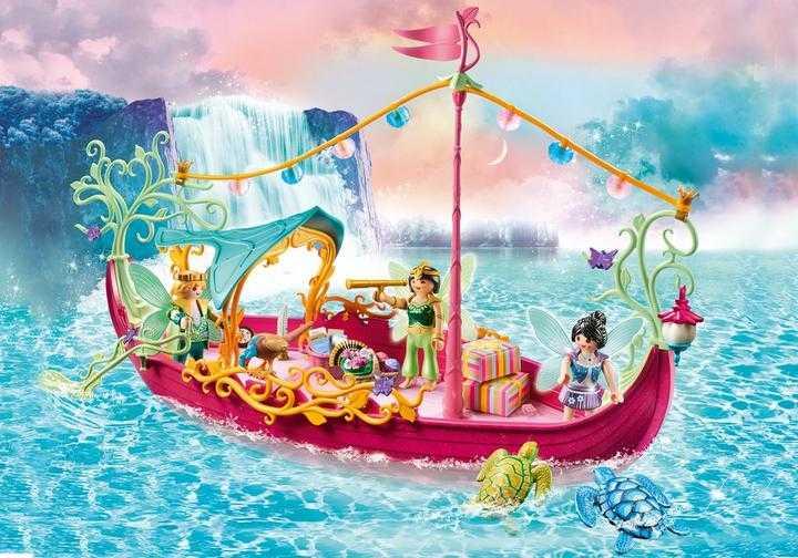 PLAYMOBIL Charming Fairy Boat (70659)
