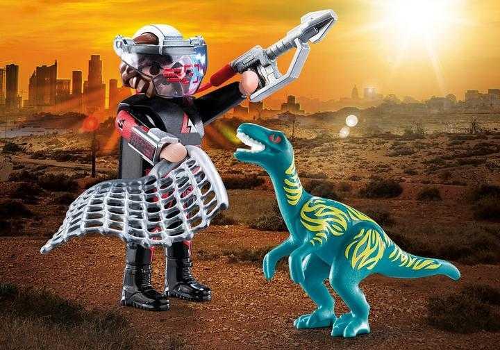 PLAYMOBIL DuoPack Velociraptor with Dino Catcher (70693)
