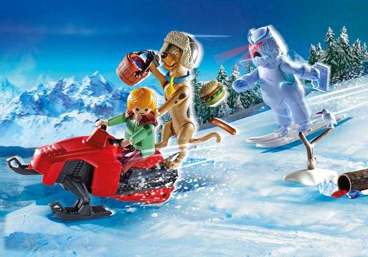 PLAYMOBIL SCOOBY-DOO! Adventure with Snow Ghost (70706)