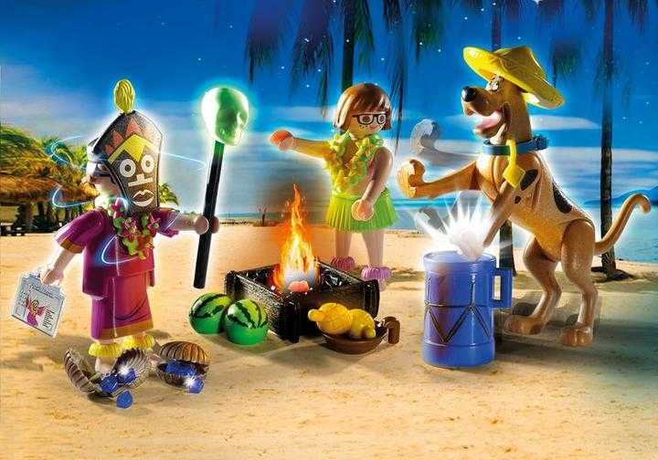 PLAYMOBIL SCOOBY-DOO! Abenteuer mit Witch Doctor (70707)