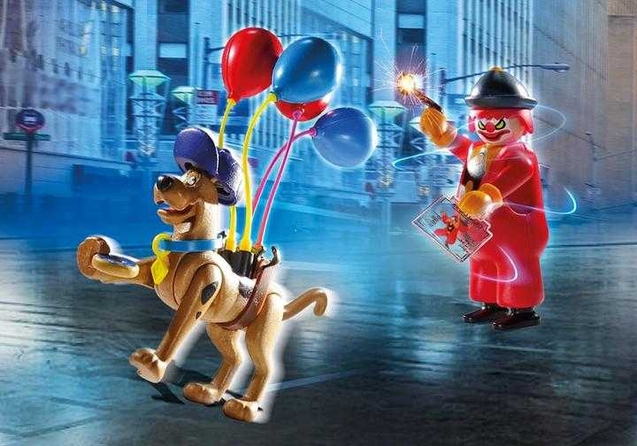 PLAYMOBIL SCOOBY-DOO! Adventure with Ghost Clown (70710)