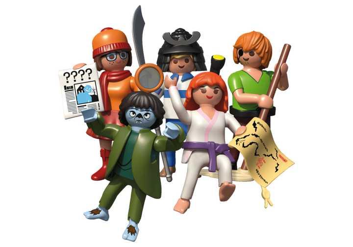 PLAYMOBIL SCOOBY-DOO! Mystery Figures (Series 2) (70717)